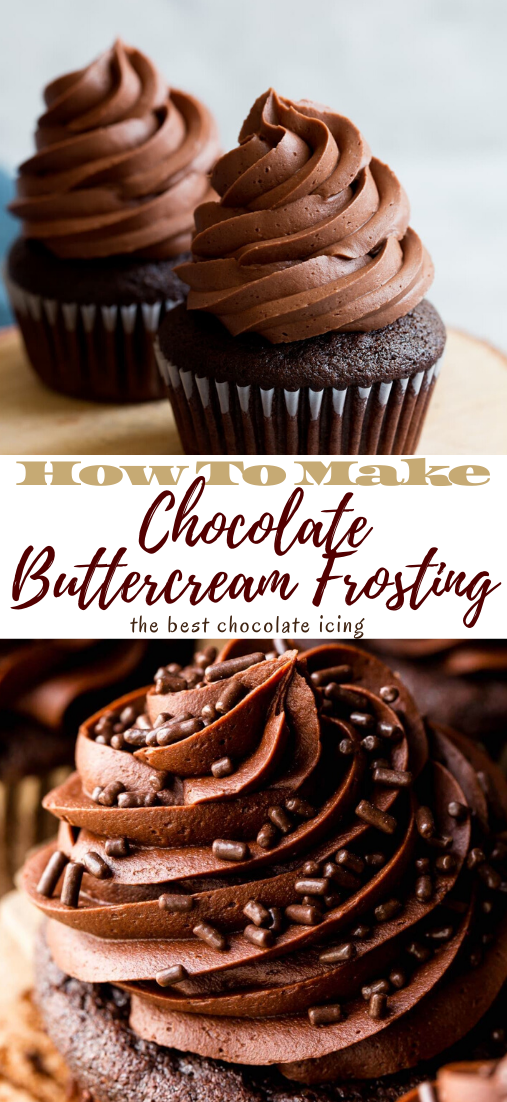 Chocolate Buttercream Frosting #dessertrecipe #chocolatecake #cheesecake #cookiessimplerecipe