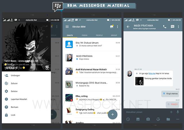 BBM Messenger Material Beta V1