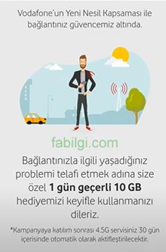 Vodafone Sınırsız Tobi Bedava 10 GB İnternet Alma Hilesi 2021