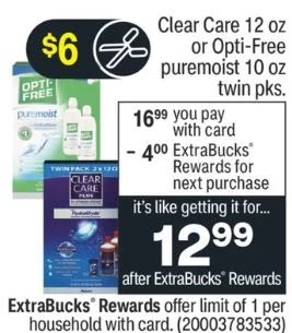 FREE Opti-Free Twin Pack CVS Deals 9/5-9/11
