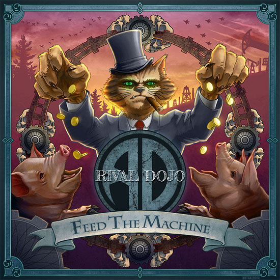 <center>Rival Dojo stream new album 'Feed The Machine'</center>