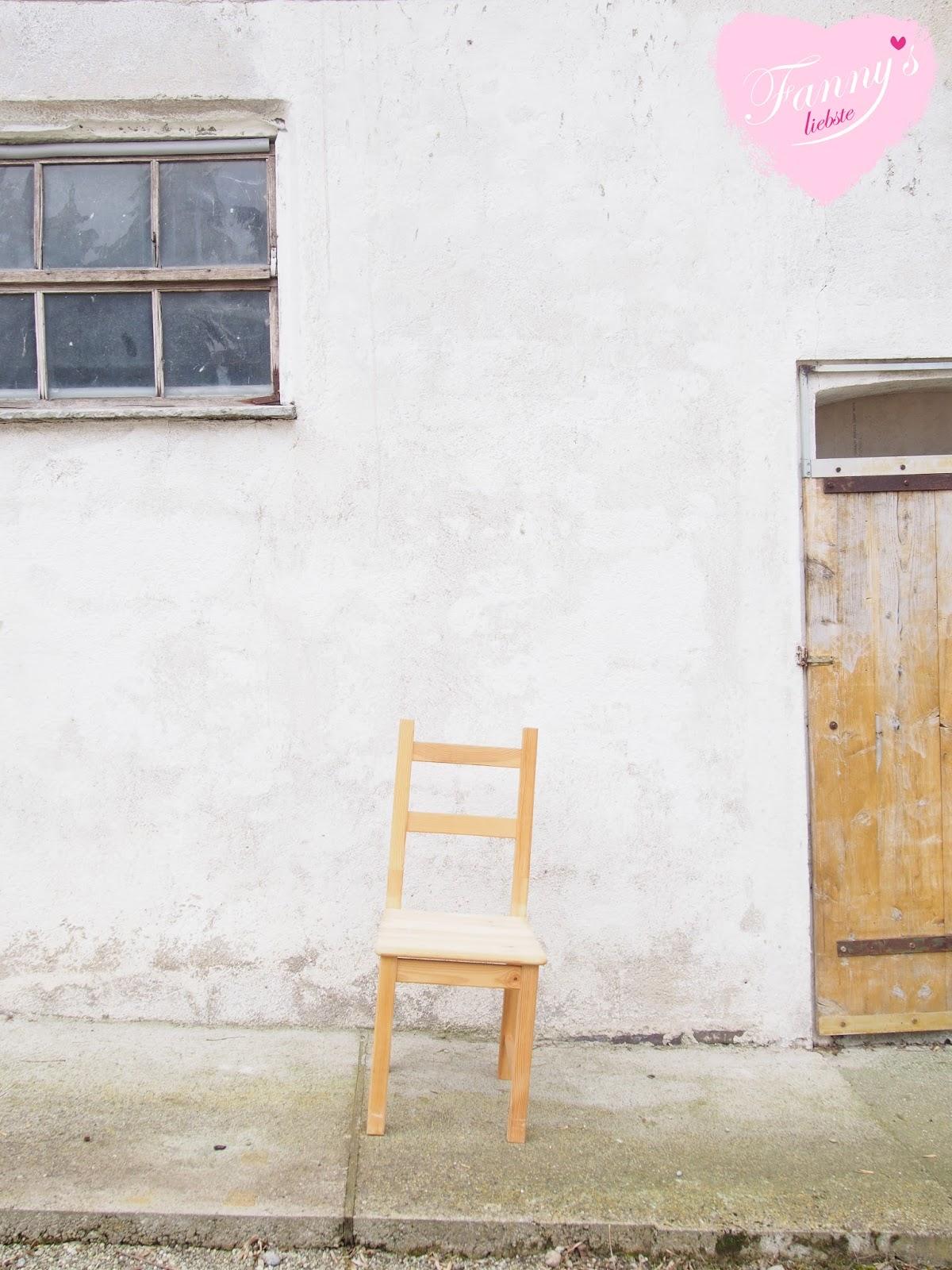 pfingstrosen stuhl makeover fanny s liebste. Black Bedroom Furniture Sets. Home Design Ideas