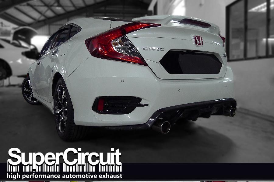 Supercircuit exhaust pro shop honda civic fc 1 5 turbo for Where are honda civics made