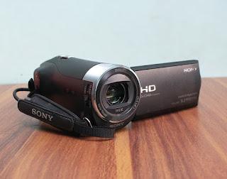 Jual handycam Sony CX405 Bekas