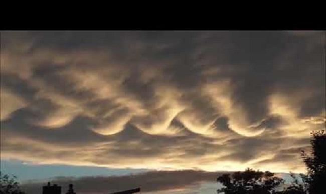 Απόκοσμα σύννεφα και «μηχανικό» ουρλιαχτό στον ουρανό της Σλοβακίας  (video)