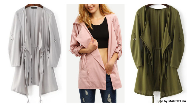 www.shein.com/Army-Green-Draped-Collar-Drawstring-Chiffon-Coat-p-307842-cat-1735.html?utm_source=www.lifebymarcelka.pl&utm_medium=blogger&url_from=lifebymarcelka
