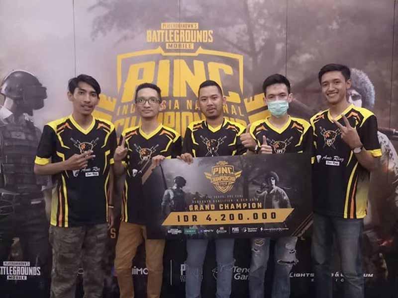 5 Tim Esport PUBG Mobile Indonesia Terbaik 2019 4