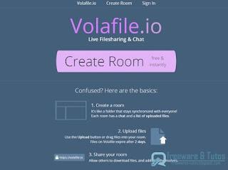 Volafile : partage de fichiers et chat intégré
