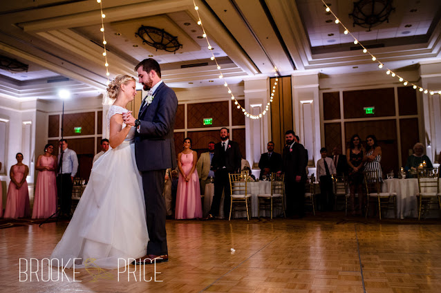 bride and groom first dance destination wedding