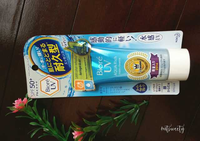 Review Sunscreen Biore UV Aqua Rich Watery Essence SPF 50+/PA++++