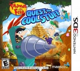 Phineas y Ferb Quest For Cool Stuff