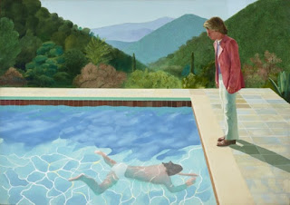 David Hockney, Portrait of an Artist (Pool with Two Figures) 1972