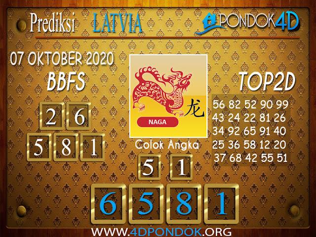 Prediksi Togel LATVIA PONDOK4D 07 OKTOBER 2020