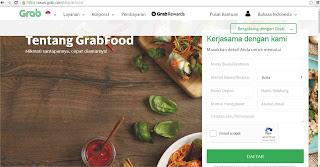 Cara daftarkan warung di Grabfood