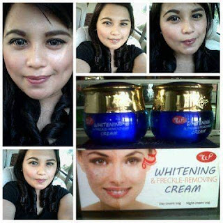Testimoni Whitening Freckle Cream Woo Tekh