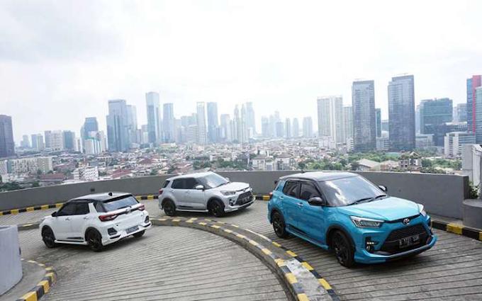 Penjualan Toyota Raize Melebihi Dari Target TAM Sejak Di Luncurkan