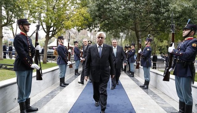 Π.Παυλόπουλος: Αδιαπραγμάτευτο το ελληνικό βέτο για την ΠΓΔΜ
