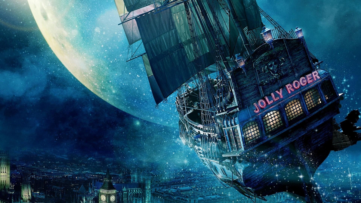 04-Jolly-Roger-ship-above-the-city-Quentin-Fantasy-Digital-Illustrations-with-a-bit-of-Surrealism-www-designstack-co