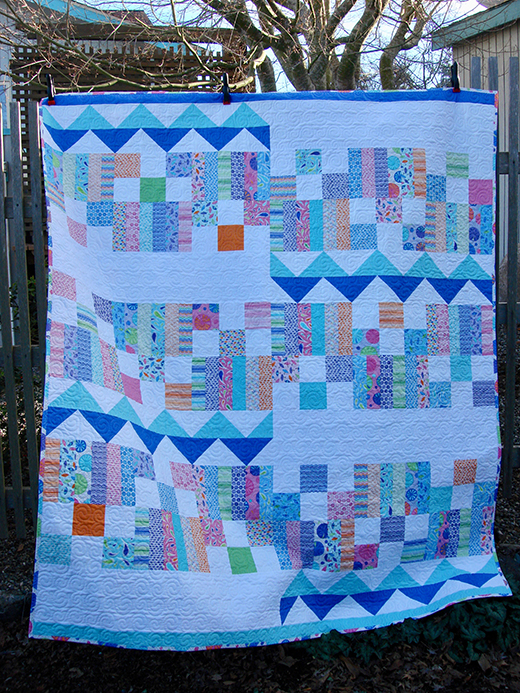 Smile at the Rain Quilt designed by Robin Nelson from Craft Sisters for Moda Bake Shop