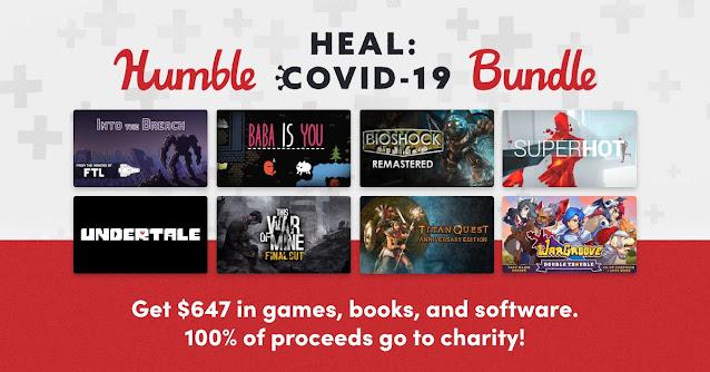Humble Heal: Covid-19 Bundle - 20美金23款遊戲