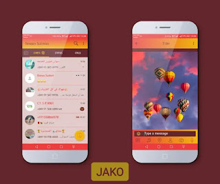 Balloons Theme For YOWhatsApp & Fouad WhatsApp By Jako
