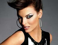 Linda Evangelista, Brown Hair