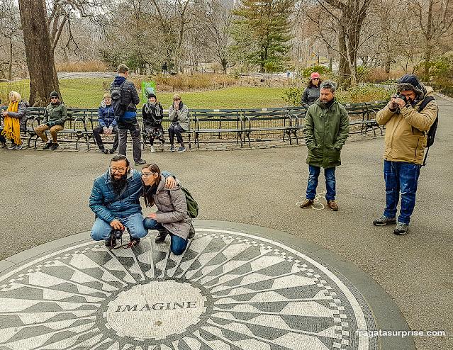 Strawberry Fields, Central Park, Nova York