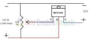 circuit diagram of 12v dc fan dimmer