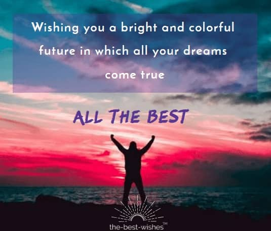 All the Best Wishes Quote
