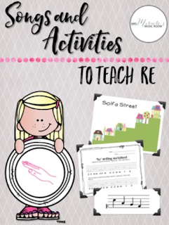 "Songs and Activities to teach re: One of many revised products in Aileen Miracle's store! If you've already purchased, go to ""my purchases"" and re-download!"