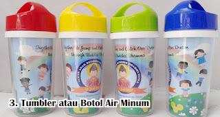 Tumbler atau Botol Air Minum bisa menjadi hadiah menarik untuk anak-anak saat 17an