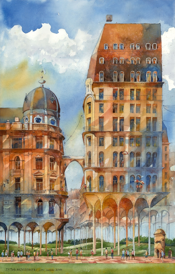 09-Meadow-Cities-Tytus-Brzozowski-Architecture-Meets-Watercolors-Paintings-in-Warsaw-www-designstack-co