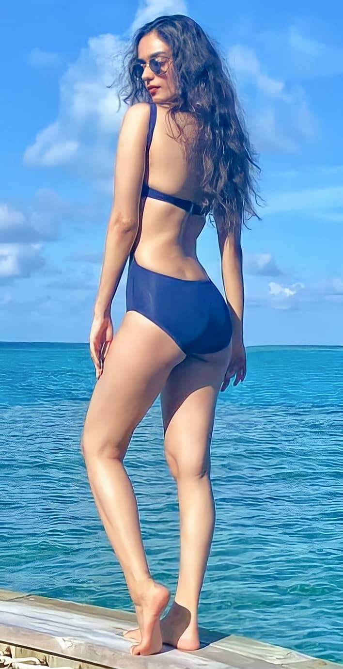 Manushi Chhillar Hot Bikini Pics