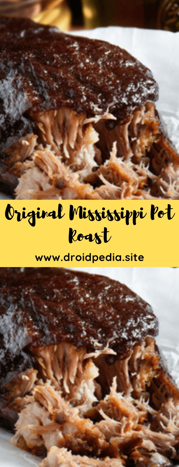 Original Mississippi Pot Roast  #crockpot #dinner #keto