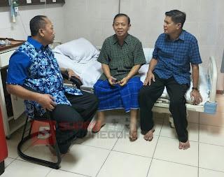 Mantan Bupati HM Santoso Bertemu Calon Bupati Soehadi Moeljono