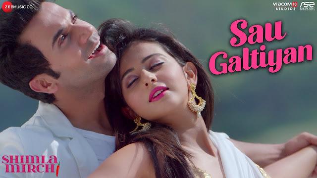 Sau Galtiyan Lyrics in Hindi & English - Shimla mirch