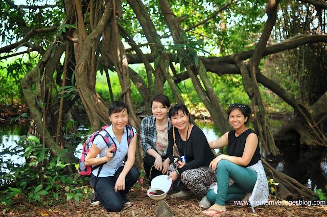 Khung cảnh xung quanh rừng Nam Cát Tiên