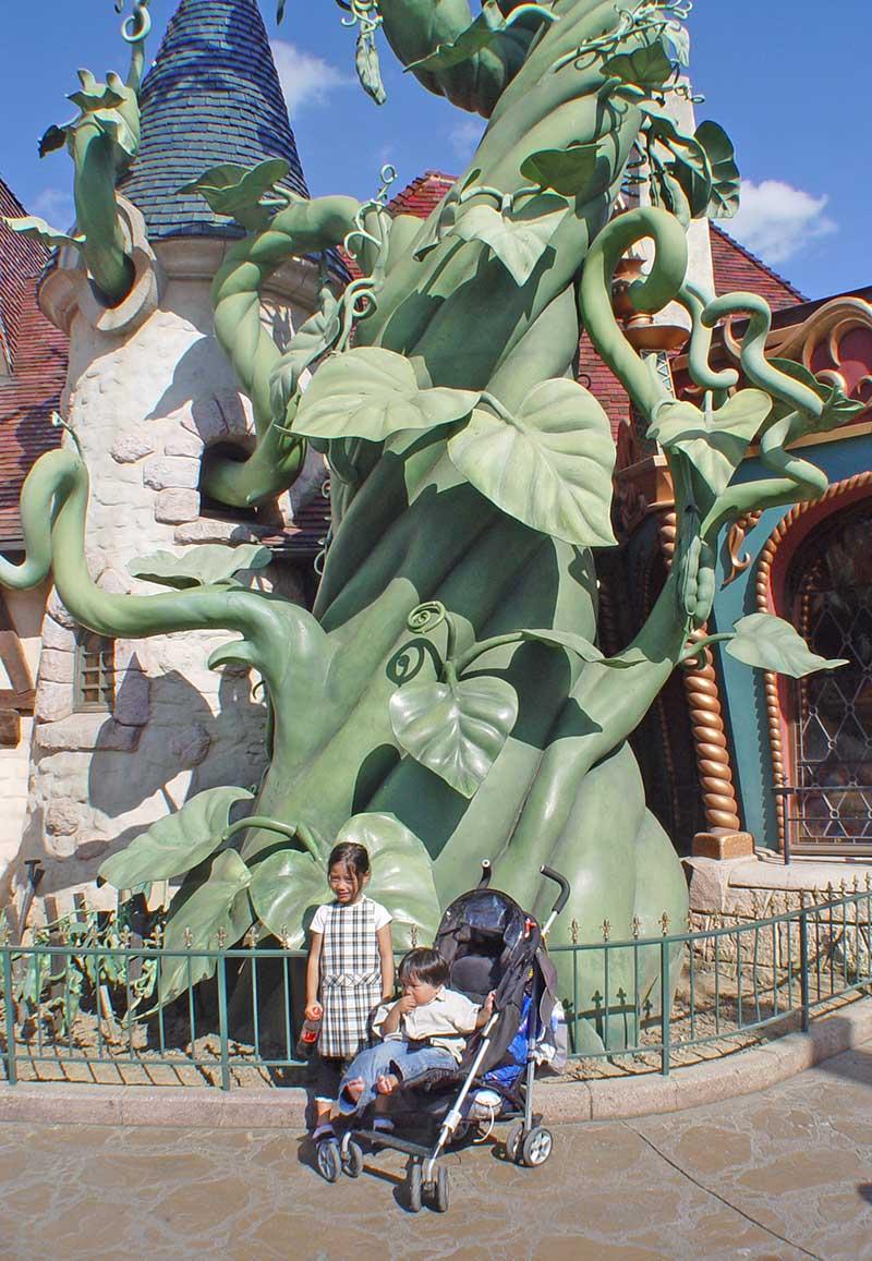 Jack's Beanstalk Disneyland Paris