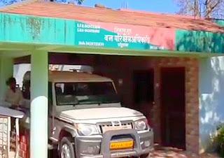 लोकायुक्त की संयुक्त टीम की बड़ी कार्यवाही, रिश्वत लेते पकड़े गये वन विभाग के अधिकारी