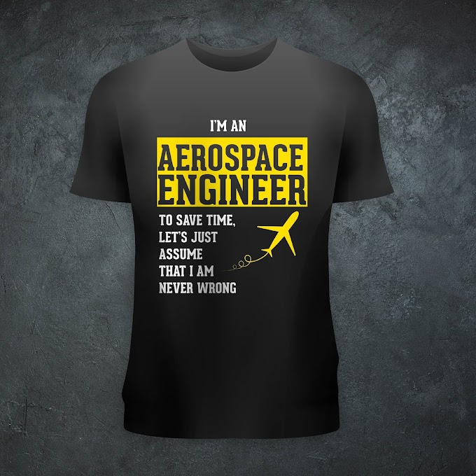 Aircraft Nerds Aerospace Engineer Unisex T-shirt