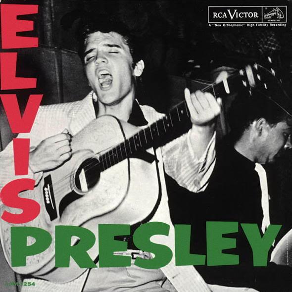 Portada del disco homónimo de Elvis Presley (1965)