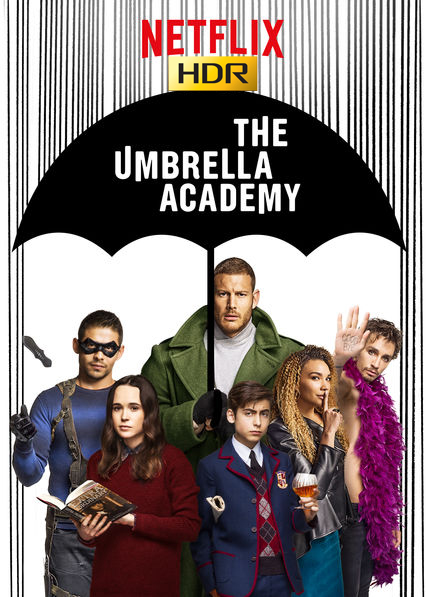 The Umbrella Academy (2019) Temporada 1 NF WEB-DL HDR-1080p Latino
