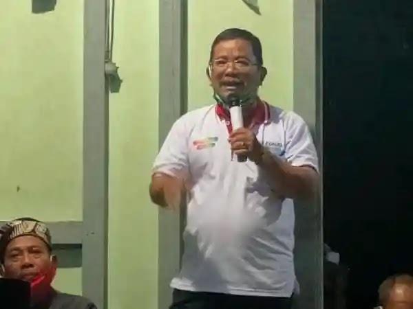 Hadir Di Nirboyo, Rupinus Tegaskan Pemerintah Bertanggungjawab