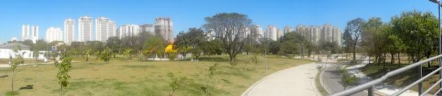 Ciclovia e pista de corrida e caminhada Parque Belém