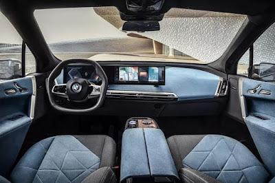 سيارة بي أم دبليو آي-إكس BMW iX الكهربائية الجديدة