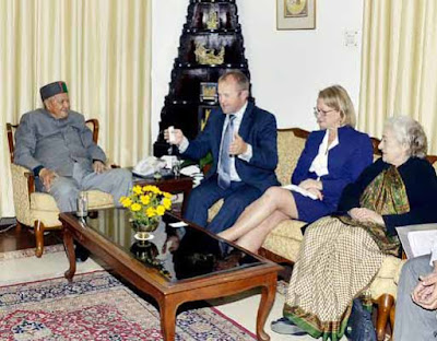 Himachal cm Virbhadra Singh, Himachal Pradesh Chief Minister, New Zealand, horticulture, horticulture development project