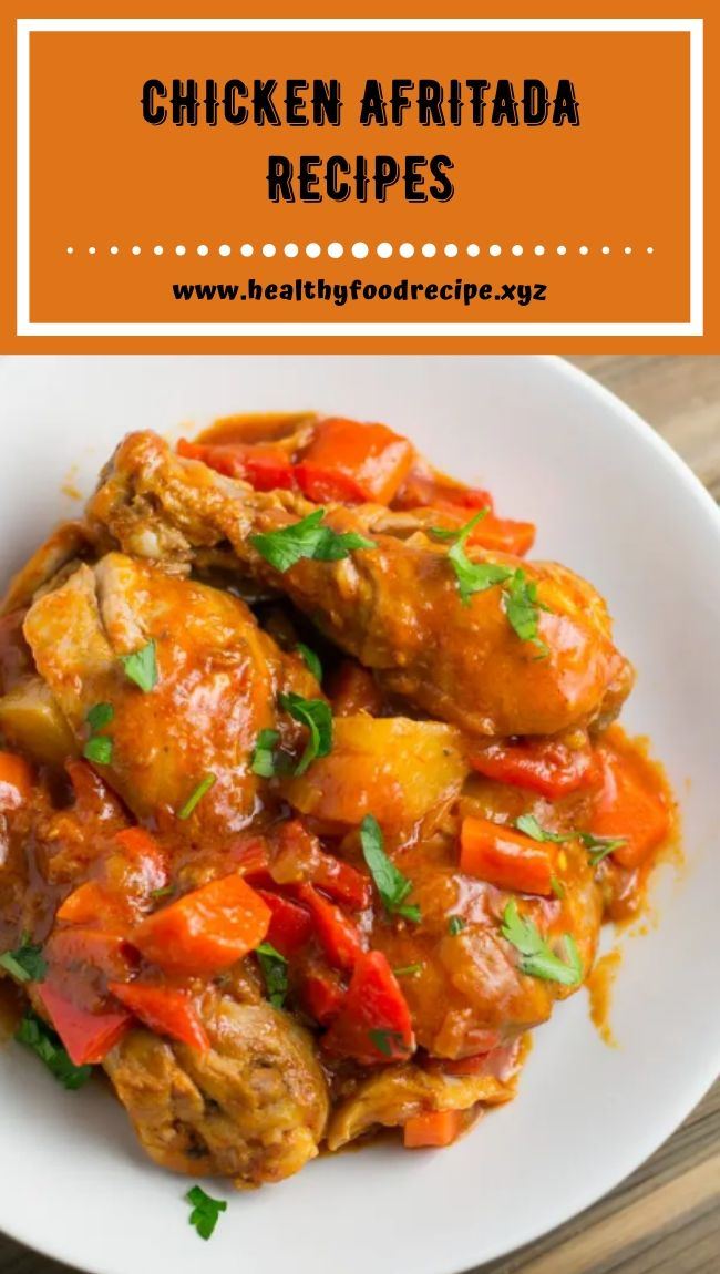 CHICKEN AFRITADA RECIPES