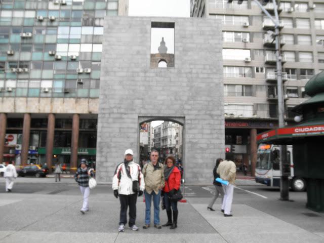 Puerta de la Ciudadela Montevidéo