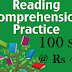 100 Comprehension Prepared From Recent Newspaper Articles and Books