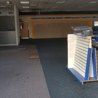 The last remnants of Blockbuster Video in Manchester